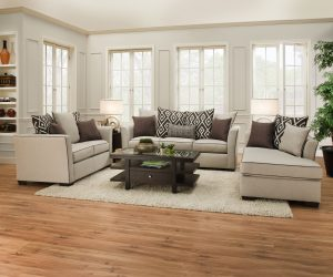 LSSIM4202 SIMMONS Sofa and Loveseat Reg $1399 Now $1199