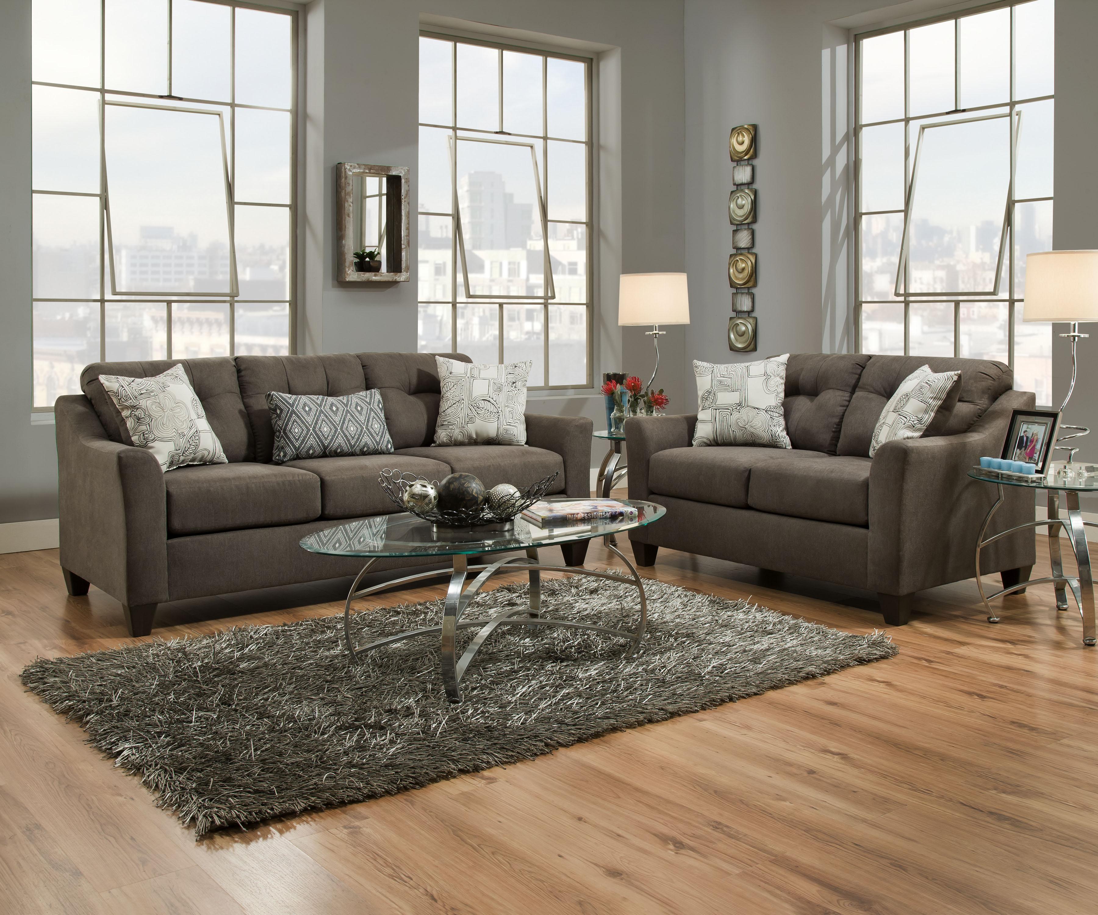 LSSIM4315 SIMMONS Sofa Reg $599 Now $399