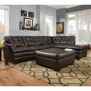 LSSIM5122 SIMMONS Beautyrest Sectional Reg $1499 Now $1099