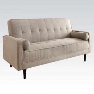 ACM57071 Adjustable Sofa w/ 2 Pillows Reg $699 Now $469