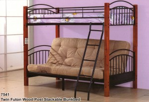 7541 twin bunkbed $ 299