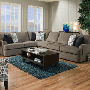LSSIM8540 SIMMONS Beautyrest Sectional Reg $1899 Now $1399