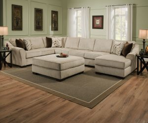 LSSIM9355 SIMMONS Beautyrest Sectional Reg $1899 Now $1499