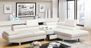 CM6833WH- Sectional w speakers - 1,299.00
