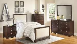 HOM1810T-1 6pc Twin Bedroom Set Reg $1299.90 Now $1099.90