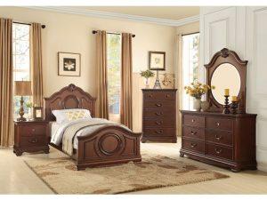 HOM2039TC-1 6pc Twin Bedroom Set Reg $1599.90 Now $1099.90