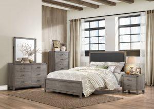 HOM2042T-1 6pc Twin Bedroom Set Reg $899.90 Now $699.90