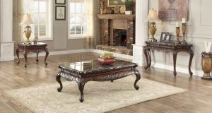 HOM3526-30 Coffee Table Marble Top $519.90 End Table $389.90 Now $519.90