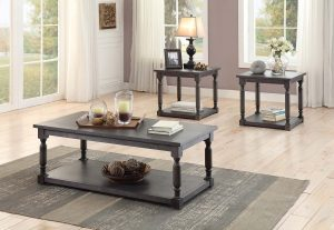 HOM3560 Coffee Table And 2 End Tables Set $449.90