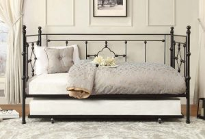 HOM4968BK-NT Twin Day Bed WIth Trundle Reg $569.90 Now $369.90