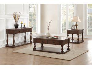 HOM5267RF Coffee Table $289.90 End Table $215.90 Sofa Table $289.90