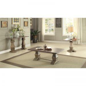 HOM5428-30 Coffee Table $369.90 End Table $249.90 Sofa Table $389.90