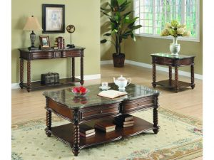 HOM5560 Coffee Table $489.90 End Table $365.90 Sofa Table $485.90