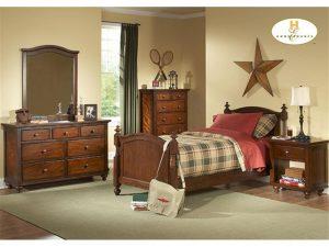 HOMB1422T-1 6pc Twin Bedroom Set Reg $1199.90 Now $999.90