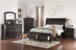 Queen Bed with Drawers $449 F 9204Q
