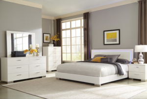 Queen LED Bed $399 BDCOA 203500Q