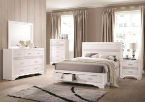Queen Miranda Bed with Drawers $349 BDCOA 205111