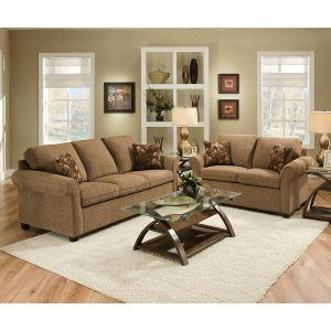 LSSIM1630 SIMMONS Sofa and Loveseat Reg $1099 Now $899
