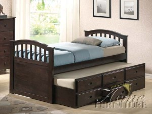 acm full bed twin trundle $ 499