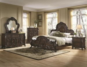 bdcoa204451 6pc queen bedroom set reg $3,899.90 now $2,599.90