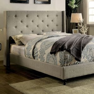 CM7677GY Queen Bed Frame Reg $499.90 Now $289.90 more sizes and colors available