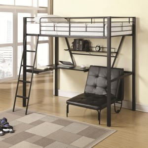 coa460198 twin loft bunkbed reg $599.90 now $399.90 free mattress