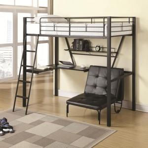 coa460198 twin loft bunkbed reg $599.90 now $399.90 free mattress