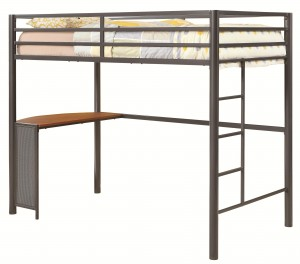 coa460229 twin loft bed reg$599.90 now $399.90 free mattress