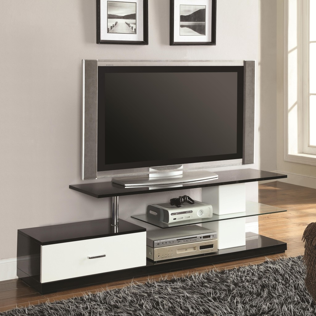 room space stained living stand calm decorate to with modern design unite tv unit finish stylish
