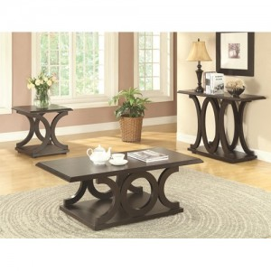 coa703147 end table $199.90 703148 coffee table $199.90 703149 sofa table $199.90