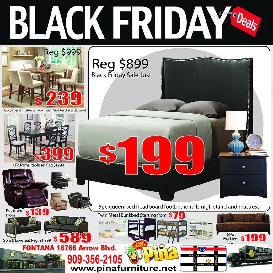 Black Friday Front Pina Furniture