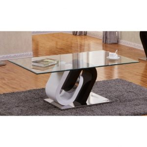 BESct507 Glass And Lacquer Coffee Table Reg $349.90 Now $289.90