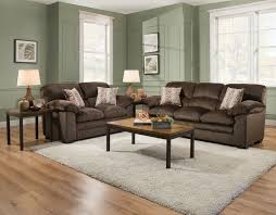 LSSIM3684 SIMMONS 7pc Living Room Set. Sofa, Loveseat, 4 Pillows and a Matching Rug. Super Sale for only $799