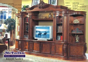 mcfe6600 $3299 6pc wall unit