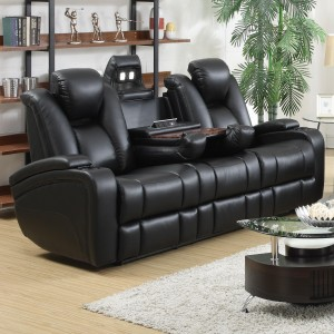 COA601741 (Sofa only) Power headrest, Power LED lights, Cup holder and more features Reg $1499 Now $1099