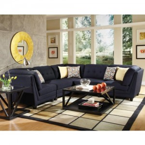 COA3x503452 Transitional 5 pcs Sectional Reg $1899 Now $1399