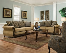 LASIM8115 SIMMONS Sofa and Loveseat Reg $1599 Now $1199
