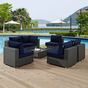 MOD1883chctus 7 pc Outdoor Patio Set Reg $2299.90 Now $1999.90