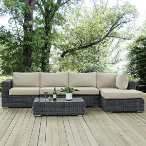 MOD1900grybei 5 pc Outdoor Patio Set Reg $2199.90 Now $1299.90