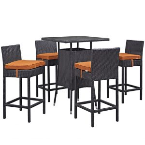 MOD1963expora 5 pc Outdoor Patio Pub Set Reg $899.90 Now $699.90