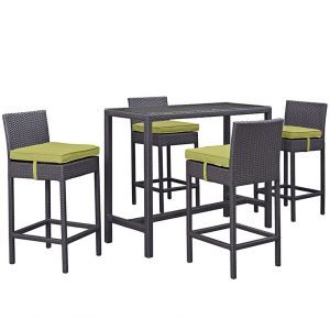MOD1964expper 5 pc Outdoor Patio Pub Set Reg $999.90 Now $649.90