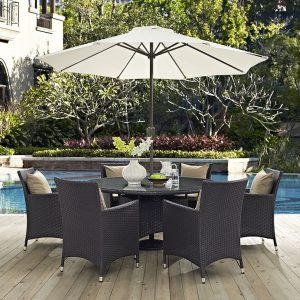 MOD2194expmoc 8 pc Outdoor Dinning Set Reg $1699.90 Now $1399.90