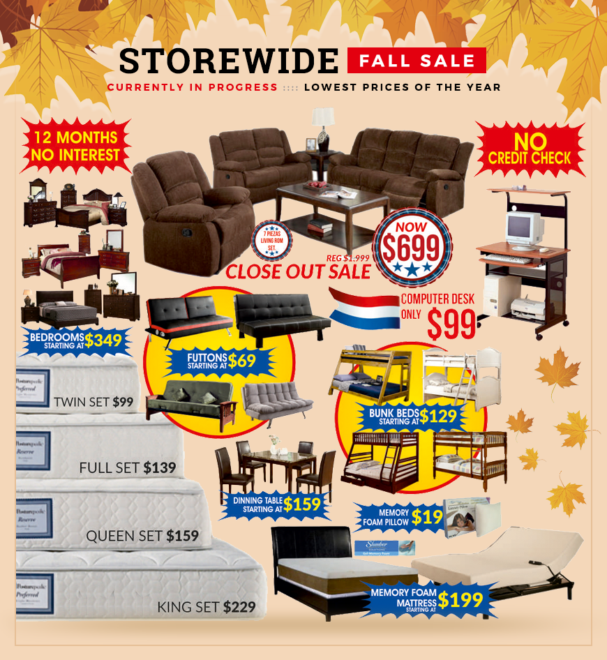 Storwide fall sale coupon 3
