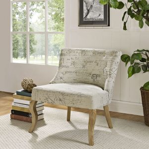 MOD1402whi Accent Chair Reg $399.90 Now $199.90