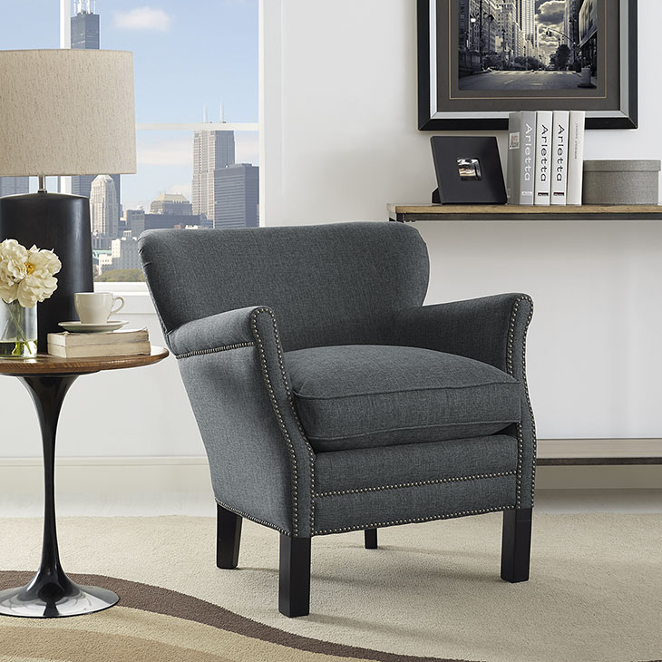 MOD2152gry Accent Chair Reg $599.90 Now $499.90