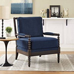 MOD2303nav Accent Chair Reg $699.90 Now $599.90
