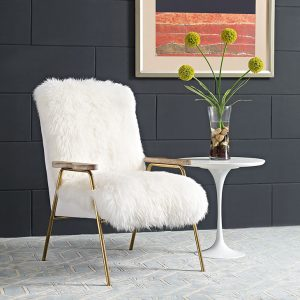 MOD2305wht Accent Chair Reg $799.90 Now $649.90