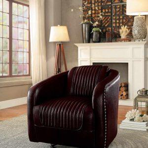HOM1200BRW Swivel Accent Chair Reg $599.90 Now $369.90