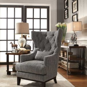 HOM1217F1S Accent Chair With Pillow Reg $599.90 Now $429.90