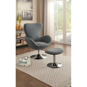 HOM1267GY Swivel Chair Reg $469.90 Now $330.90